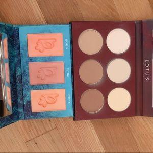 Alamar Cosmetics Makeup - Alamar Blush Palette + A2o Studio Contour Palette